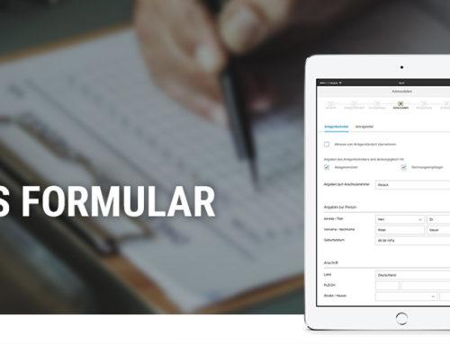 Simplifier Hackathon – Digitales Formular