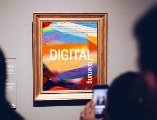 Webinar: DIGITALISIERUNG – Ist das Kunst oder kann das weg?