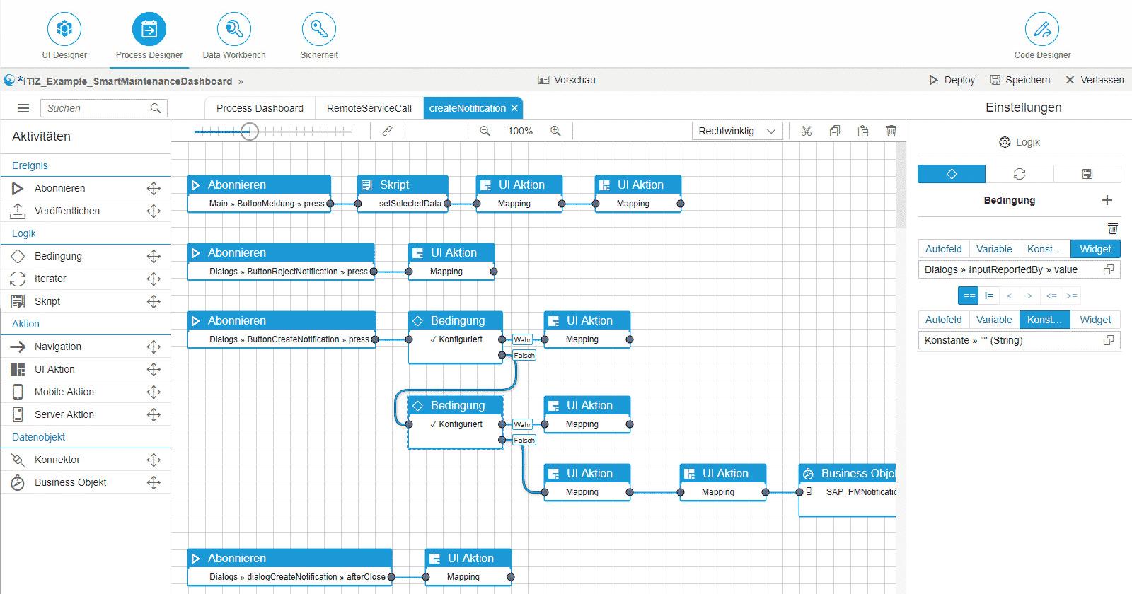 Simplifier UI