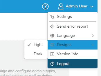 Der Dark Mode kann leicht bei den Benutzereinstellungen aktiviert werden