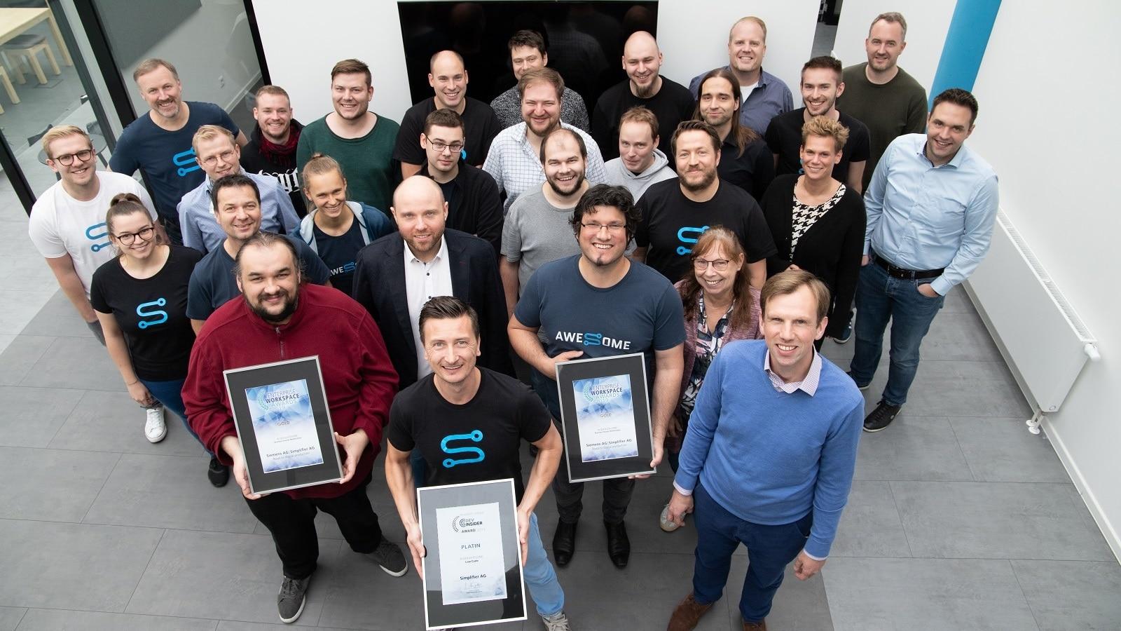 Simplifier AG | Platin Vogel IT Awards
