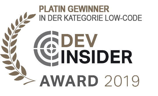Platin Gewinner Readers Choice IT-Awards DevInsider 2019