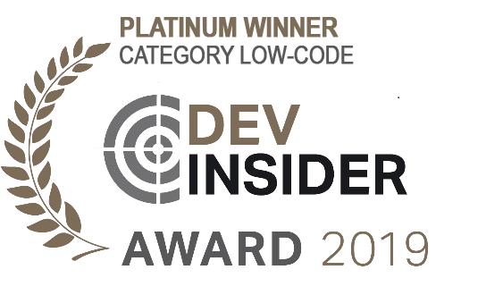 Platinum Winner Readers Choice IT-Award 2019