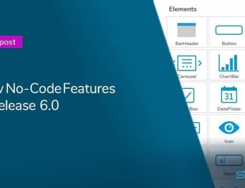 Release 6.0 Preview: More no-code features and a new look and feel
