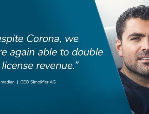 Successful previous fiscal year: Simplifier continues to consolidate its position